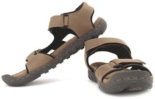 Woodland Khaki Men Casual Sandals