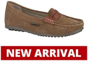 Woodland LADIES CAMEL Loafers