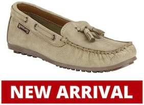 Woodland LADIES KHAKI Loafers