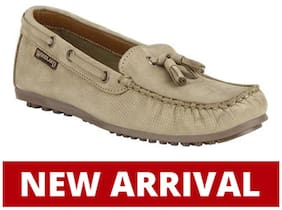 Woodland Women Brown Loafers - Eu 36