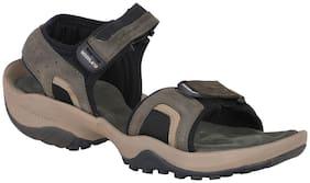 Woodland Men Green Sandals
