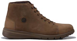 Woodland Men Beige Outdoor Boots - OGB 3322119 - OGB 3322119 CAMEL