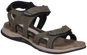 Woodland Men GD 2183116 Olive Sandals & Floaters