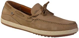Woodland Men Khaki Casual Shoes - OGC 2810118 - OGC 2810118 KHAKI