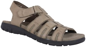 Woodland Men OGD 2693117 KHAKI Casual Sandal