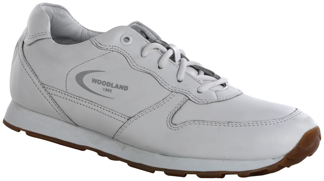 Buy Woodland Men White Casual Shoes