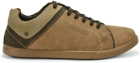 Men Khaki Casual Shoes