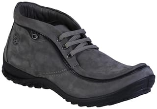 Woodland Men's Grey Outdoor Boots