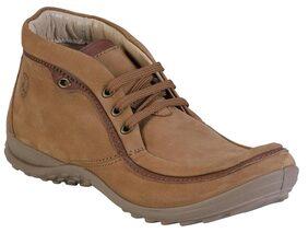 Woodland Men Tan Boots