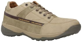 Woodland Men's Khaki Casuals Shoes