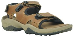 Woodland Men Brown Sandals & Floaters
