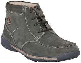 Woodland Men's Green Chukka Boots