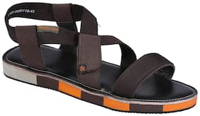 Woodland Men's DBROWN Casual Sandal