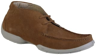 Woodland Men Copper Casual Shoes