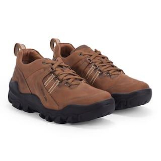 Woodland Men Brown Casual Shoes - OGC 3311119 CASHEW BROWN
