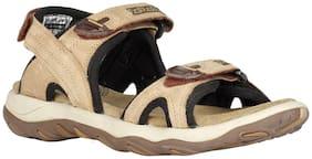 Woodland Men Beige Sandals & Floaters
