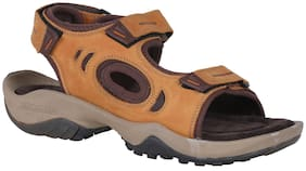 Woodland Men Yellow Sandals -