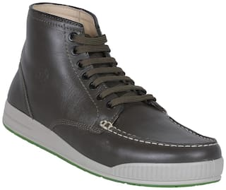 Woodland Men Green Sneakers - Ogb 2704117
