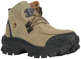 Woodland Men's Khaki Outdoor Boots