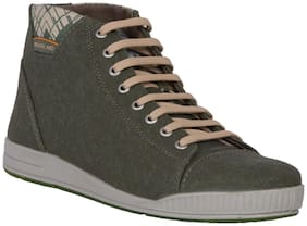 Woodland Men's Green Ankle Boots