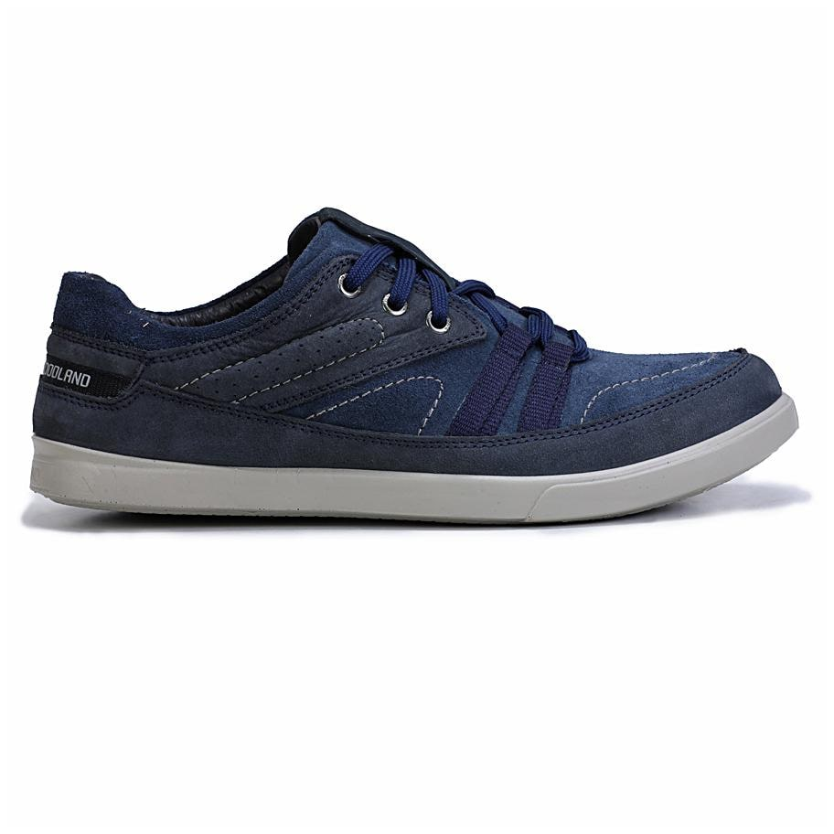Buy Woodland Men Navy Blue Casual Shoes