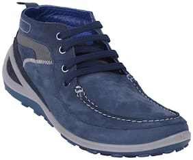 Men Blue Outdoor Boots