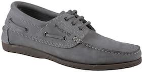 Woodland Men Grey Casual Shoes