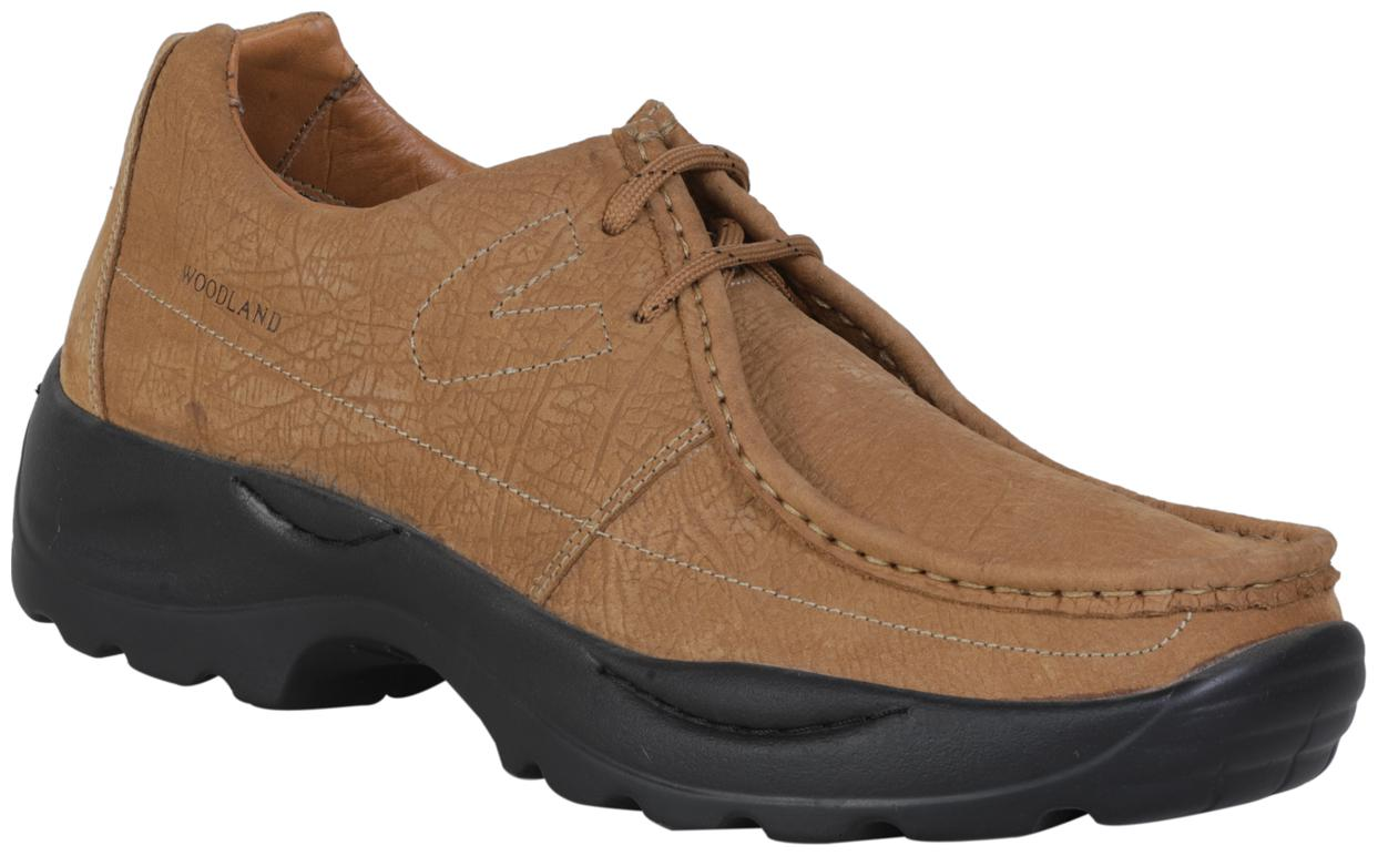 Buy Woodland Men Brown Casual Shoes - G