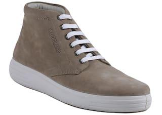 Woodland Men Brown Sneakers - Gb 2519117