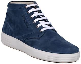 Woodland Men GB 2519117 BLUE 1 Sneaker