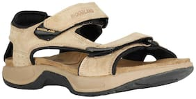 Woodland Men's Khaki Casuals Sandals