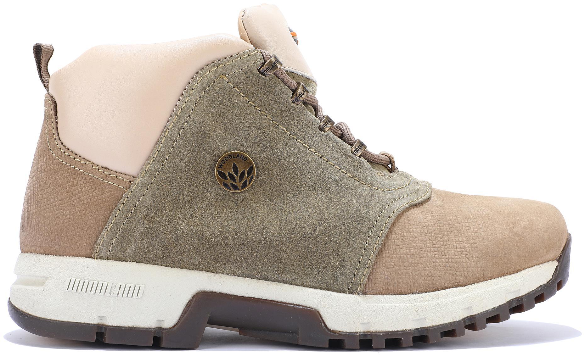 Woodland Men Grey Outdoor Boots   O GB 0706109