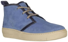 Woodland Men's Navy blue Ankle Boots