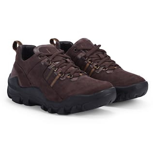Woodland Men Brown Casual Shoes - OGC 3311119 RB BROWN