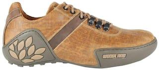 Woodland Men GC 0580108 Copper Casual Shoes