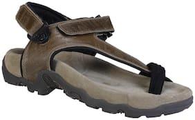 Woodland Men's KHAKI Casual Sandal