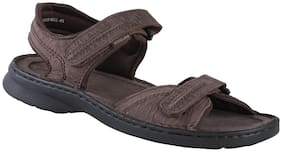 Woodland Men Brown Sandals -