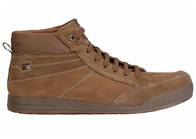 Men Beige Outdoor Boots