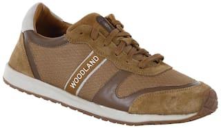 Woodland Men Brown Casual Shoes - Ogj 1977116 Camel