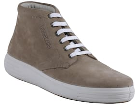Woodland Woodland Men's KHAKI Casual Boot Men Brown Sneakers -