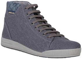 Men Grey Classic Sneakers