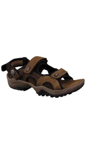 Woodland Men Brown Sandals & Floaters
