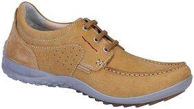 Woodland Men Beige Sneakers - 1923115