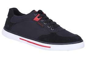 Woodland Men Black Sneakers