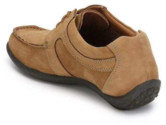 Woodland Men Brown Casual Shoes