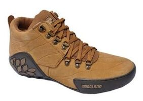 Woodland Men's Khaki Casual Shoes GC 1869115 Camel