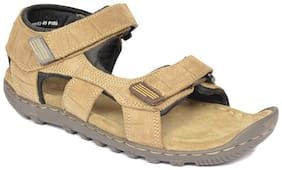 Woodland Men Khaki Sandals