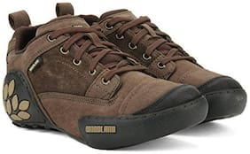 Woodland Men's Brown Casual Out Door Shoes(GC1868115BRN)