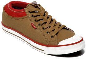 Woodland Men Brown Sneakers