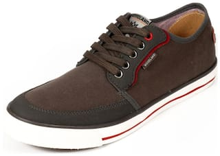 Woodland Men Grey Sneakers